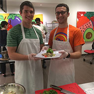 Students in UT Health Nourish Program