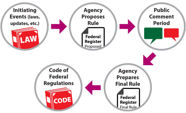 Flowchart of How Regulations are Developed