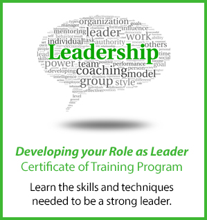 Leadership Certificate of Training