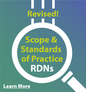 Scope and Standards for RDNs