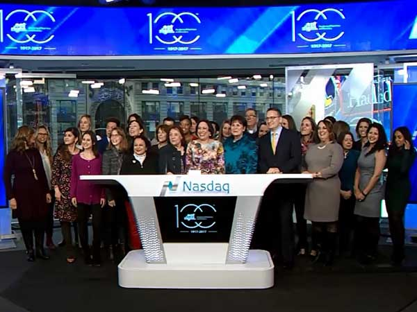 Academy of Nutrition and Dietetics Opening NASDAQ