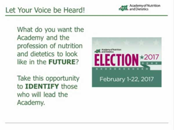 Nominations and Elections Toolkit Webinar