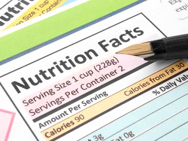 Nutrition Facts Label - The Business of Nutrient Calculation
