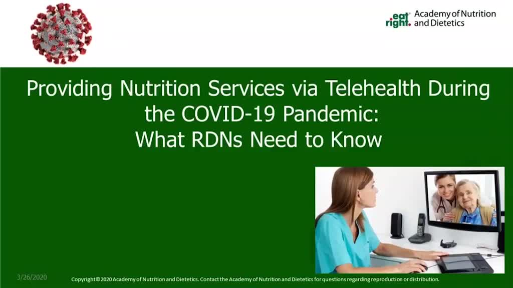Telehealth and Covid-19 Webinar Preview Image