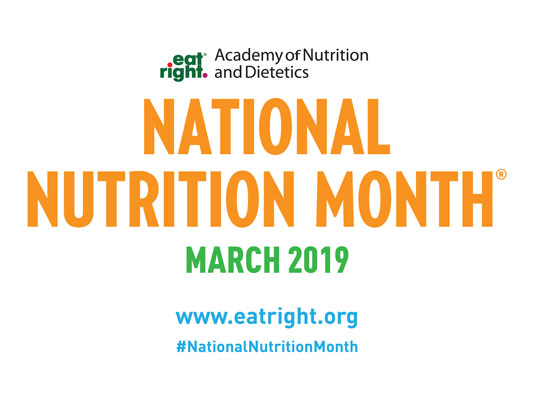 National Nutrition Month Media Materials