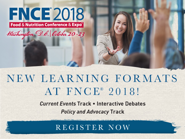 New learning Formats for FNCE 2018