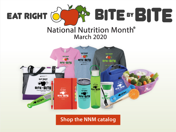 National Nutrition Month - March 2020