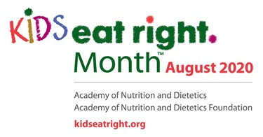 Kids Eat Right Month - August 2020