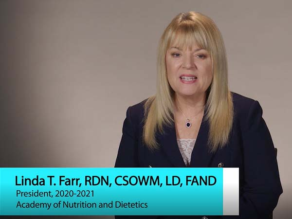 50-Year Member Message from Linda T Farr RDN, CSOWM, LD, FAND