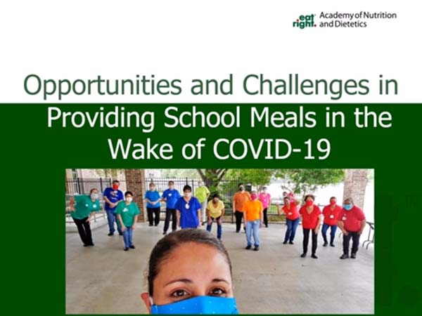 Opportunities and Challenges in Providing School Meals in the Wake of COVID-19