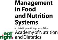 Management in Food and Nutrition Systems