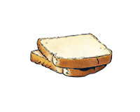 Whitebread Color Illustration