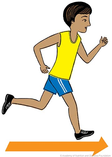 runner illustration:
